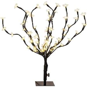 Árvore de Mesa Cerejeira 60 LEDs, 45cm - Orb Christmas
