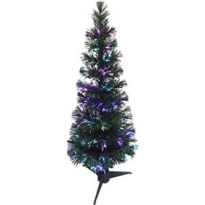 Árvore de Natal em Fibra Ótica 1m 75 Galhos, 110V - Orb Christmas (Cód. 124069801)