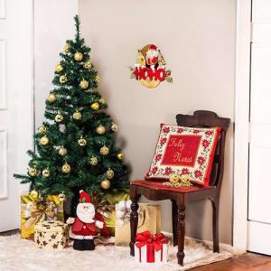 Árvore Tradicional Decorada 1,50m com Conjunto de Bolas Douradas 30 Peças Orb Christmas
