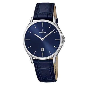 efea140a744 Relógio Festina Masculino Couro Azul - F16745 3 - FT00002925 em ...