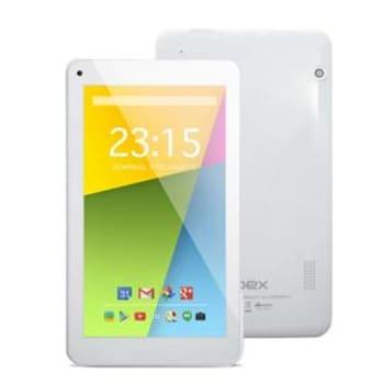 """Tablet Qbex TX754 com Tela de 7"""", 4GB, Câmera VGA, Wi-Fi, Android 4.4 e Processador Quad Core de 1.2Ghz - Branco"""