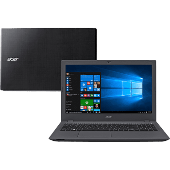 "Notebook Acer E5-574-592S Intel Core i5 8GB 1TB LED 15,6"" Windows 10 - Grafite"