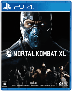 Mortal Kombat XL - PS4 (Cód: 9280731)