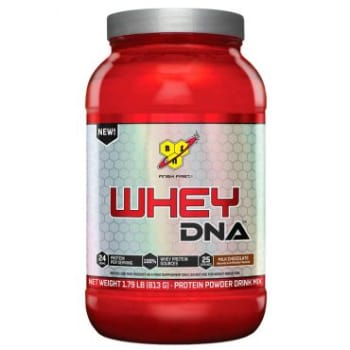 Whey DNA BSN (Proteína Isolada e Concentrada) 25 doses Chocolate 813gr