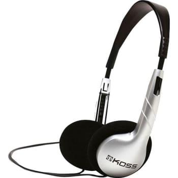Fone de Ouvido Koss KPH 5 On-Ear Headphone Cinza/Preto