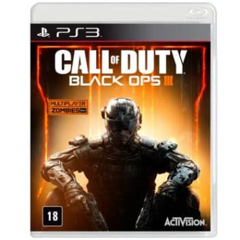 Jogo Call of Duty: Black Ops III para Playstation 3 (PS3) - Activision