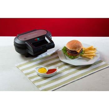 Máquina de Hambúrguer Fun Kitchen SS-1010G Preta (Cód. 120279245)