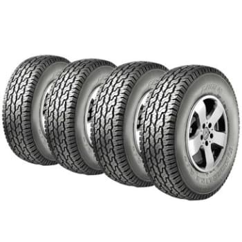 Kit com 4 Pneus Aro 15 255/75 R15 Timberline - Bridgestone