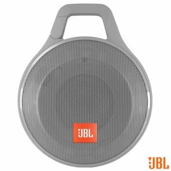 Caixa Acústica JBL com Conectividade iOS, Android, P2 e Bluetooth Cinza - CLIP PLUS