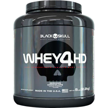 Whey 4HD Chocolate 2.267g - Black Skull
