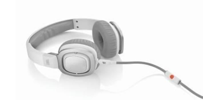 Fone de Ouvido Supra Auricular Com Microfone JBL J55 Branco