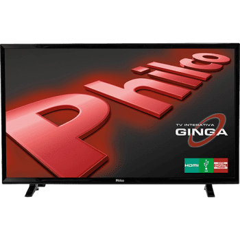"TV LED 39"" Philco PH39E31DG HD com Conversor Digital 2 HDMI 1 USB 60Hz"