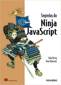 Segredos do Ninja Javascript (Português) Capa comum