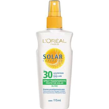 Protetor Solar Expertise Spray Transparente Oil Free FPS 30 - L'Oréal Paris