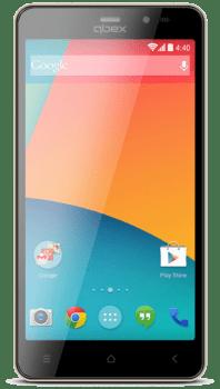 """Smartphone Qbex W509x Dourado 5"""" Intel Atom Dual Core, Android 5.0, Câm 8Mp, 16Gb"""