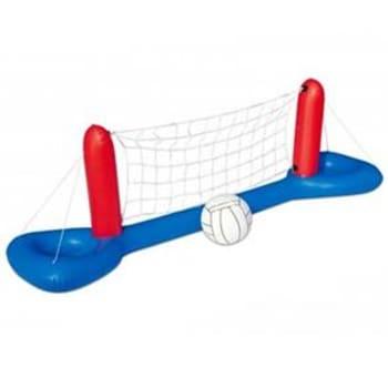 Play Voleibol Divertido Inflável Bestway 52133 com Bola - Azul/Vermelho