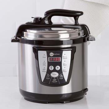 Panela de Pressão Elétrica Fun Kitchen Inox 6L