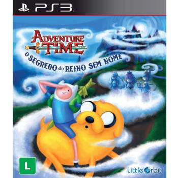 Jogo Adventure Time: O Segredo do Mundo Sem Nome - PS3