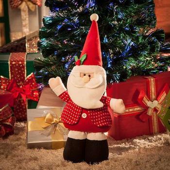 Boneco Papai Noel Mãos com Movimento - Orb Christmas