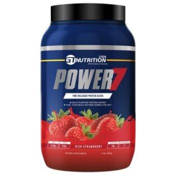 Blend de Proteínas Power 7 Morango 1,362g - GT NUTRITION USA