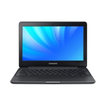 "NOTEBOOK SAMSUNG CHROMEBOOK 3 XE500C13-AD1BR INTEL CELERON DUAL CORE 2GB 16GB 11,6"" PRETO"