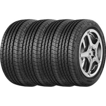 Kit com 4 Pneus Aro 15 Goodyear 195/60R15 88V Direction Sport
