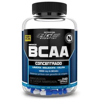 AMINOACID BCAA AGE 240 CÁPS - NUTRILATINA