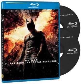 Batman - o Cavaleiro Das Trevas Ressurge - 2 Discos - Blu-ray