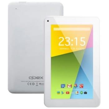 """Tablet Qbex TX753 Branco - Tela 7"""", Quad Core 1.2Ghz, 4GB, Android 4.4, Wi-fi, Câmera Frontal"""