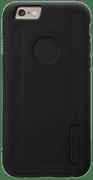 Capa Dupla Camada Para iPhone 6 Kubalt Preta - Com Película Protetora