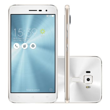 "Smartphone Asus Zenfone 3 Tela 5,2"" 3 GB Branco 4G 32GB 16 MP Android 6.0"
