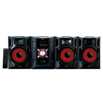 Mini System 800W RMS - Philco com DVD e CD Player, 2.1 canais com Subwoofer, Rádio FM Estéreo, Entrada USB e Auxiliar, Função Ripping - PH800