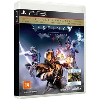 Jogo para PS3 Destiny The Taken King Edição Lendária ActivisionActivision