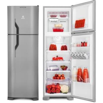 Refrigerador Electrolux DF35X 261 Litros 2 Portas Frost Free InoxElectrolux