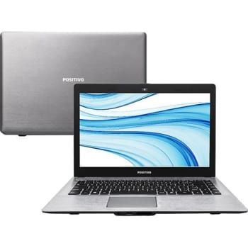 "Notebook Positivo Premium XRI 8150 Intel Core i5 4GB 500GB Tela LED 14"" Linux - Cinza (Cód. 127137143)"