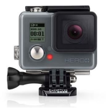 Câmera Digital e Filmadora GoPro Hero Plus CHDHC-101-LA Chumbo - 8MP, Wi-Fi, Bluetooth e Vídeo 4K