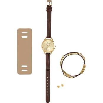 Kit Relógio Feminino Condor Analógico Fashion Coal2035eikm