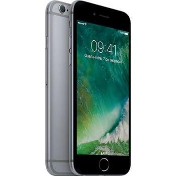 iPhone 6s 16GB Cinza Espacial Desbloqueado iOS9 3G/4G Câmera 12MP - Apple