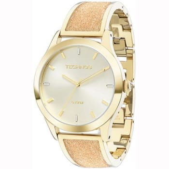 Relógio Feminino Technos Analógico Elegance Crystal Swarovski 2035LYB/4X