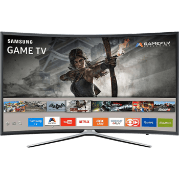 "Smart TV Games LED 49"" Samsung UN49K6500AGXZD Full HD Curva 49k6500 com Conversor Digital  3 HDMI e 2 USB Conectividade Smartphones Wi-Fi 60Hz"