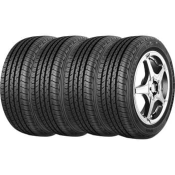 Kit com 4 Pneus Aro 15 Goodyear 195/65R15 Direction Sport 91HGoodyear