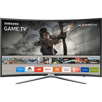 "Smart TV LED 40"" Samsung 40k6500 Full HD Curva 3 HDMI 2 USB"