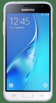 "Smartphone Samsung Galaxy J3 2016 8Gb Dual Chip Branco Desbl Tela 5""Android 5.1 Quad Core Câmera 8Mp"