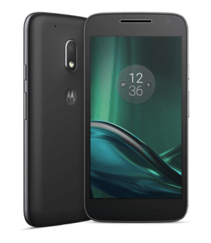 "Smartphone Motorola Moto G 4 Play Preto Tela 5"" Android™ 6.0.1 Marshmallow Câm 8Mp Dualchip 16Gb (Cód: 9353375)"