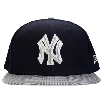 Boné New Era 5950 MLB Print Trance New York Yankees