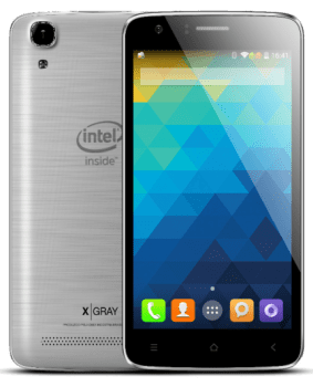 "Smartphone Qbex W510x Prateado 5"" Intel Atom Dual Core, Android 5.0, Câm 8Mp, 16Gb"