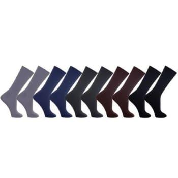 Kit Dorbe com 10 Pares Meia Social Colorido