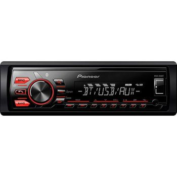 Som Automotivo Pionner MVH-288BT AM/FM com Bluetooth e Entrada USB Media Receiver