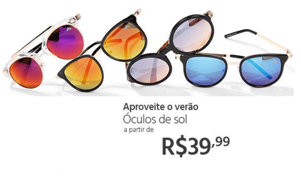 Óculos de Sol Butterfly - Feminino e Masculino em Promoção no Oferta ... 494bab9e34