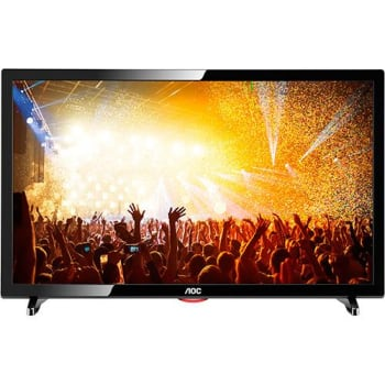 "TV LED 19"" AOC LE19D1461/20 HD com Conversor Digital 1 HDMI 2 USB"